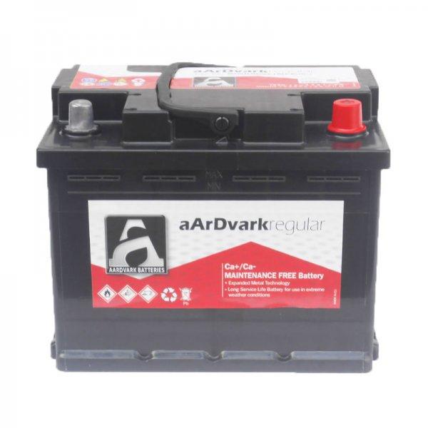Μπαταρία AARDVARK regular  56030 60AH 490A 242mm x 175mm x 190mm