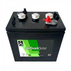 Μπαταρία Βαθιάς εκφόρτισης Φωτοβολταϊκών aArDvark Solar US Wet 6DSOLUSWET225 225Ah