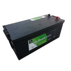 Μπαταρία Βαθιάς εκφόρτισης Φωτοβολταϊκών aArDvark Solar SMF 12SOLSMF200 200Ah