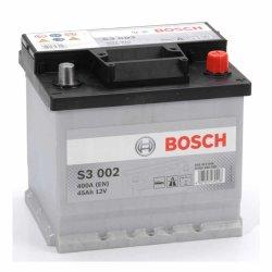 Μπαταρία Αυτοκινήτου BOSCH S3002 45AH 400A 207mm x 175mm x 190mm