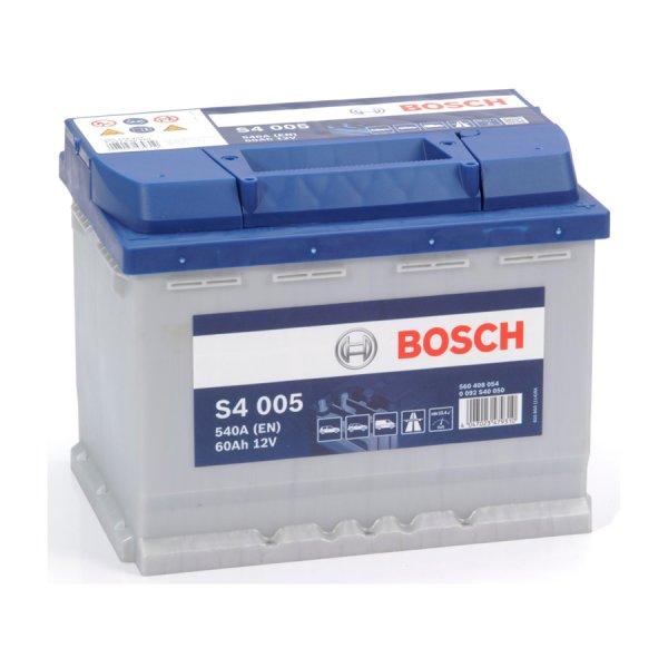 Μπαταρία Αυτοκινήτου BOSCH S4005 60AH 540A 242mm x 175mm x 190mm
