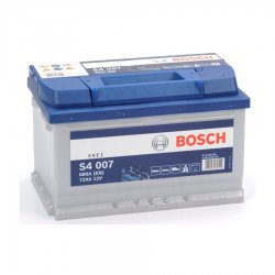 Μπαταρία Αυτοκινήτου BOSCH S4007 72AH 680A 278mm x 175mm x 175mm