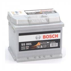 Μπαταρία Αυτοκινήτου BOSCH S5001 52AH 520A 207mm x 175mm x 175mm