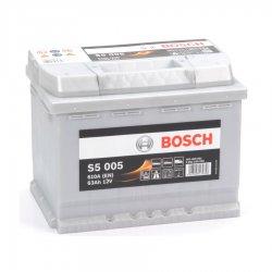 Μπαταρία Αυτοκινήτου BOSCH S5005 63AH 610A 242mm x 175mm x 190mm