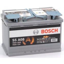 Μπαταρία Αυτοκινήτου AGM Start-Stop BOSCH S5A08 70Ah