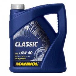 Λιπαντικό κινητήρα MANNOL 10W40 CLASSIC 4L