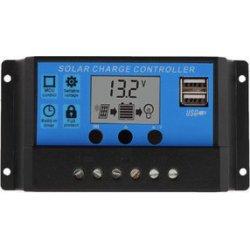 Ρυθμιστής Φόρτισης PWM 10A dual usb 12V/24V