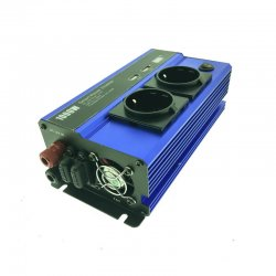 Inverter τροποποιημένου ημιτόνου DC 12V σε AC 220V με USB Andowl QY7011 1000W
