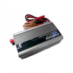 Inverter τροποποιημένου ημιτόνου DC 12V σε AC 220V με USB TBE 1000W