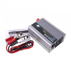 Inverter τροποποιημένου ημιτόνου DC 12V σε AC 220V με USB TBE 300W