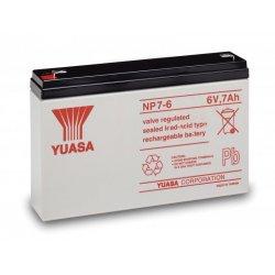 Μπαταρία YUASA VRLA AGM  6V 7Ah (NP 7-6)