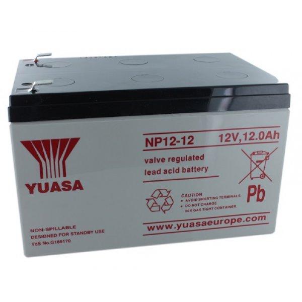 Μπαταρία  YUASA VRLA - AGM 12V 12Ah (NP12 - 12)