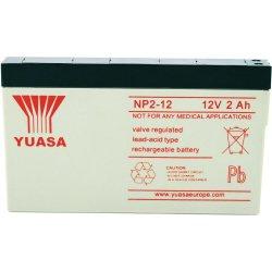 Μπαταρία  YUASA VRLA - AGM 12V 2Ah (NP 2 - 12)