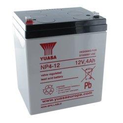 Μπαταρία  YUASA VRLA - AGM 12V 4Ah (NP4 - 12)