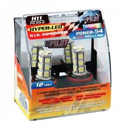 Λάμπες Lampa H11 Hyper-LED 12V 6500K 2τμχ
