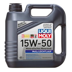 Λιπαντικό κινητήρα Liqui Moly Super Low Friction MoS2 15W50 4lt