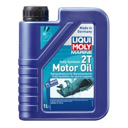 Λιπαντικό Liqui Moly Marine Fully Synthetic 2T 1lt