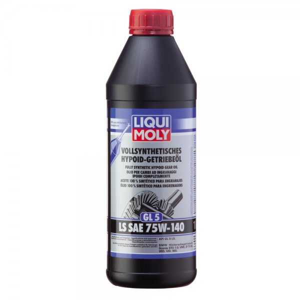 Liqui Moly Fully Synthetic Gear Oil (GL5) LS 75W140 1lt