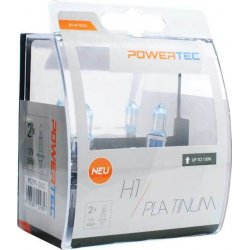 Λάμπες H1 M-Tech 12V 55W Powertec Platinum 2τμχ