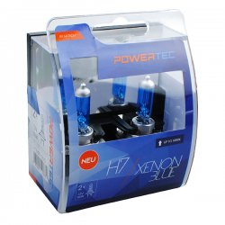 Λάμπες H7 M-Tech 12V 55W Xenon Blue 2τμχ