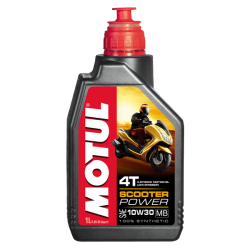 Λιπαντικό ΜΟΤΟ MOTUL SCOOTER POWER 4T 10W30 MB 1L
