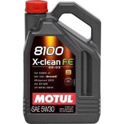 Λιπαντικό Motul 8100 X-clean EFE 5W-30 4lt