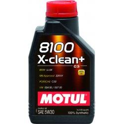 Λιπαντικό Motul 8100 X-Clean+ C3 5W-30 1lt