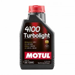 Λιπαντικό Motul 4100 Turbolight 10W-40 1lt