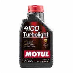 Λιπαντικό Motul 4100 Turbolight 10W-40 1lt