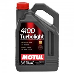 Λιπαντικό Motul 4100 Turbolight 10W-40 4lt