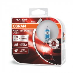 Λάμπες Osram H7 Night Breaker Laser 64210NL-HCB 2τμχ