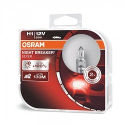 Λάμπες Osram H1 Night Breaker Silver 64150NBS-HCB 2τμχ