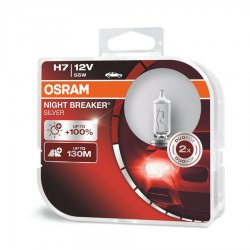 Λάμπες Osram H7 Night Breaker Silver 64210NBS-HCB 2τμχ