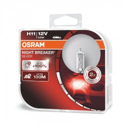 Λάμπες Osram H11 Night Breaker Silver 64211NBS-HCB 2τμχ
