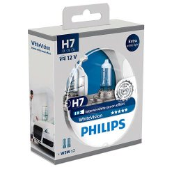 Λάμπες Philips White Vision H7 (12972WHVSM)