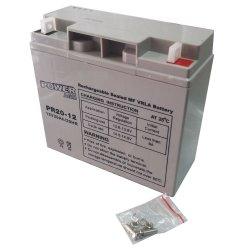 Μπαταρία ΕΠΑΝΑΦΟΡΤΙΖΟΜΕΝΗ Power PR20-12 12V 20Ah VRLA - AGM