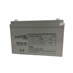 Μπαταρία ΕΠΑΝΑΦΟΡΤΙΖΟΜΕΝΗ Power PR100-12 12V 100Ah VRLA - AGM