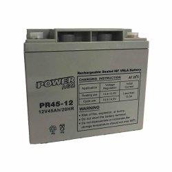 Μπαταρία ΕΠΑΝΑΦΟΡΤΙΖΟΜΕΝΗ Power PR45-12 12V 45Ah VRLA - AGM