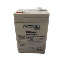 Μπαταρία ΕΠΑΝΑΦΟΡΤΙΖΟΜΕΝΗ Power PR5-6C 6V 5Ah VRLA - AGM