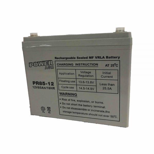 Μπαταρία ΕΠΑΝΑΦΟΡΤΙΖΟΜΕΝΗ Power PR85-12 12V 85Ah VRLA - AGM