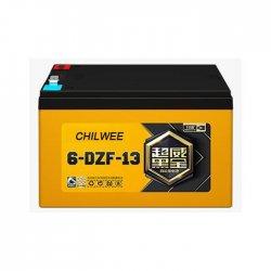 Μπαταρία VRLA Βαθιάς Εκφόρτισης για ηλεκτρικά σκούτερ Chilwee 6-DZF-13 12V 13Ah