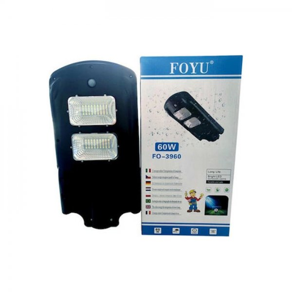 Ηλιακό Φωτιστικό Δρόμου LED FOYU FO-3960