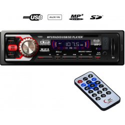 Radio Mp3 Player Αυτοκινήτου USB/FM/AUX/SD/ CDX-GT1233